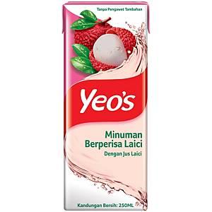 Yeo s Lychee 250ML - Pack of 6