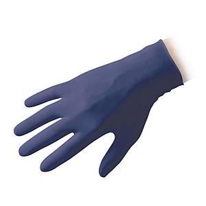 Guanti monouso Reflexx N350 Low Derma nitrile blu tg L - conf. 100
