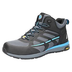 Chaussures de sécurité Bata Radiance Up, S3, gris/bleu, pointure 38, la paire