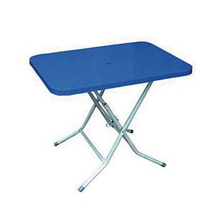 PK2 FOLDING TABLE 740X740X730 BLU