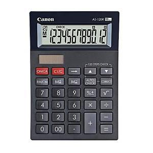 Canon AS-120R Desktop Calculator 12 Digit - Black