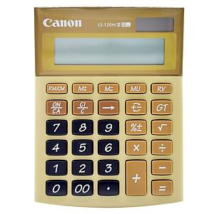 Canon LS-120 HI III Desktop Calculator 12 Digits - Brown