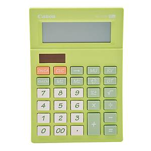 Canon AS-120V Desktop Calculator 12 Digits Green