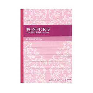 OXFORD EASY RULED NOTE 179X252 70P ASSTD