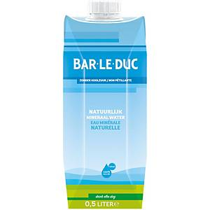Bar Le Duc still Water - 12 Tetrapack of 50cl