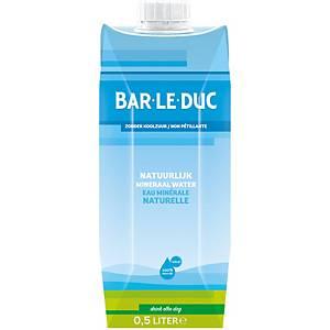 Eau minérale Bar Le Duc, paquet de 12 briques de 0,5 l