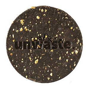 Savon pour les mains Unwaste, fait de marc de café recyclé et d écorces d orange