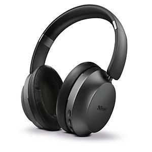 Trust Eaze 23550 kabellose Bluetooth Kopfhörer, schwarz
