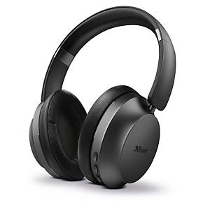 Trust Eaze 23550 vezeték nélküli bluetooth fejhallgató, fekete