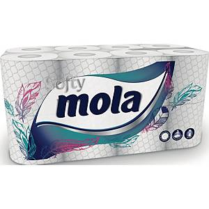 Toilettenpapier Recycling Metsä, 3-Lagig, 180  Blatt, 16 Stück