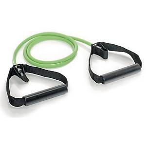 Gymstick Pro vastuskuminauha kahvoilla 140cm Medium vihreä