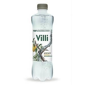 Villi Vichy sitruuna-katajanmarja 0,5L, 1 kpl=12 pulloa