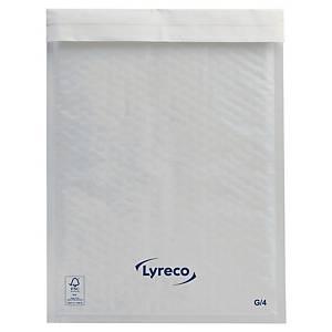 Lyreco Luftpolstertasche, 240 x 330 mm, weiß, 100 Stück