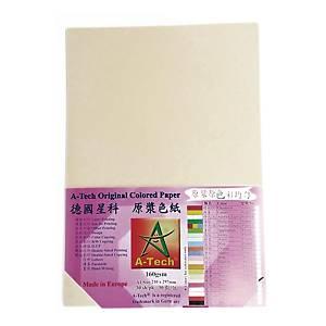 A-Tech A4 粉色顏色紙 160磅 象牙色 - 每包30張