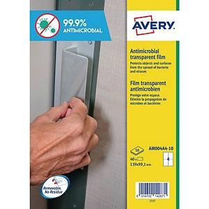 Etichette antimicrobiche antibatteriche Avery AM004A4 139 X 99,1 mm - conf. 40