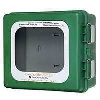 /Teca termoregolata per defibrillatore da esterni