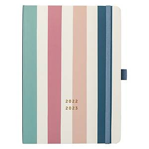 BUSY B 13 Month Week To View Dual Schedule Academic Diary Assorted