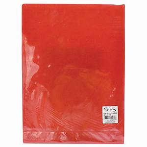 Usign L Shape File Holder A4 Red