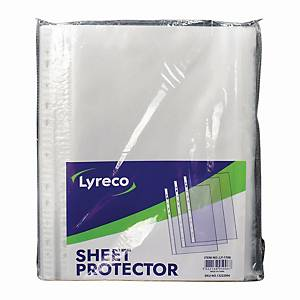 Usign 11 Holes Sheet Protector A4 0.06MM Transparent Pack of 100