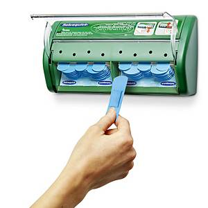 Salvequick 51030130 detecteerbare pleisterautomaat blauw