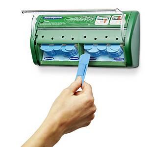 Salvequick 51030130 plaster dispenser detectable blue