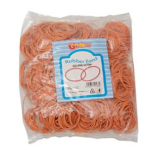Rubber Band 500g Orange