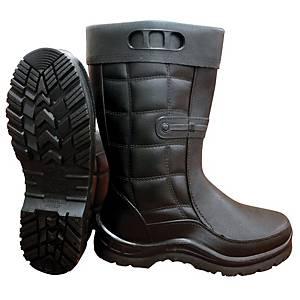 **MR MARK High Cut Rain Shoes Black - Size 38