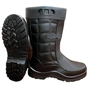 **MR MARK High Cut Rain Shoes Black - Size 42