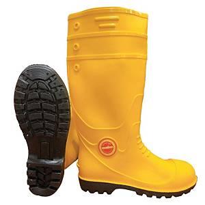 **MR MARK High Cut Rain Shoes Yellow - Size 38