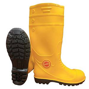**MR MARK High Cut Rain Shoes Yellow - Size 42