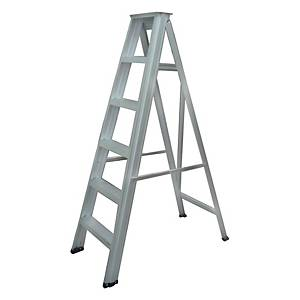 Worker Single Sided 6 Step DIY Ladder