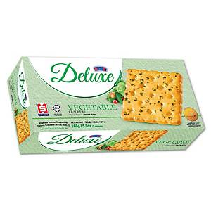Kerk Deluxe Vegetable Crackers 258G - Pack of 7