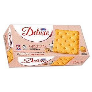 Kerk Deluxe Original Crackers 258G - Pack of 7