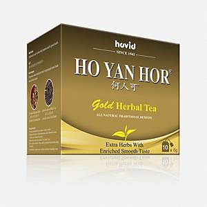 Hovid Ho Yan Hor Gold Tea 5G - Box of 10