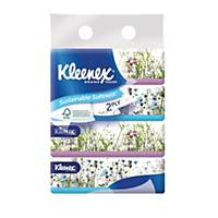 Kleenex Facial Tissue Softbox 160 Sheets 2 PLY - Pack of 4