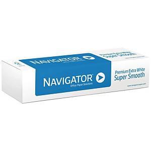 Rotolo carta plotter Navigator opaca bianca 80 g/mq 91,4 cm x 50 m