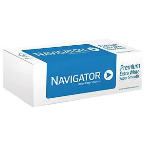 Rotolo carta plotter Navigator opaca bianca 90 g/mq 62,5 cm x 50 m