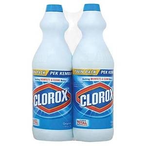 Clorox Twin Pack Original 1Litre - Pack of 2