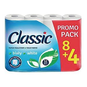 Papier toaletowy VELVET Classic, 12 rolek