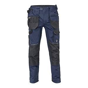 Spodnie robocze CERVA Dayboro, granatowe, rozmiar 46