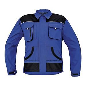 Bluza robocza F&F BE-01-002, niebiesko-czarna, rozmiar 48