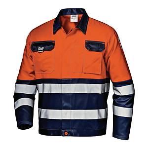 Bluza strzegawcza SIR SAFETY Mistral 34923, pomarańczowo-granatowa, rozmiar 50