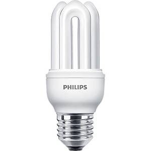 Philips Genie Fluorescent Bulb 14W E27 4000K Cool White
