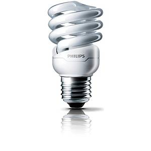 Philips Tornado Fluorescent Bulb 15W E27 4000K Cool White