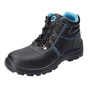 Trzewiki BATA Sirocco Blue S3 SRC, czarne, rozmiar 35