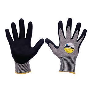 Rękawice antyprzecięciowe SUNGBOO Industrial Cut, szaro-czarne, rozmiar 8, para