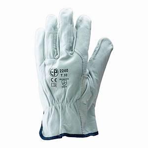 Rękawice ochronne COVERGUARD MO2239, białe, rozmiar 9, para