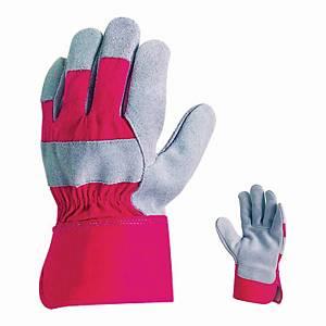 Rękawice robocze COVERGUARD MO152H, szaro-czerwone, rozmiar 10, para