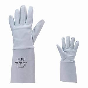 Rękawice spawalnicze COVERGUARD 2539, białe, rozmiar 9, para
