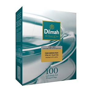 Dilmah Earl Grey Tea Bag 2G - Box of 100